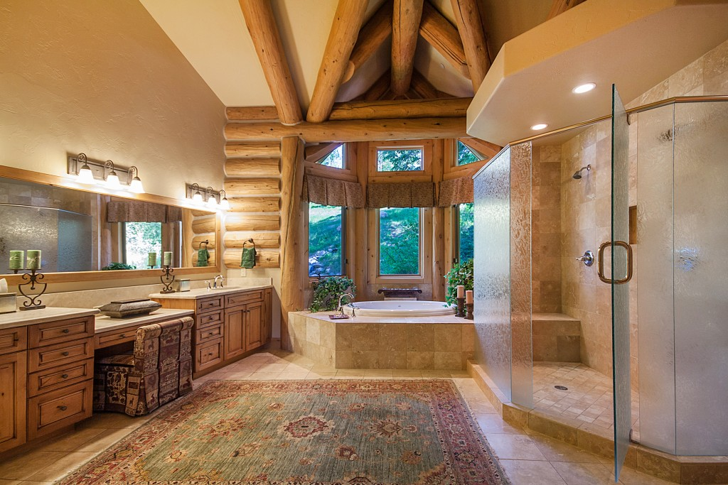 The Master Bathroom Steamboat Springs Real Estate